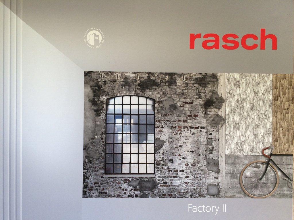Rasch Tapeten Betonoptik : Wandbild rasch 439908 Factory 2 kostenloser Versand