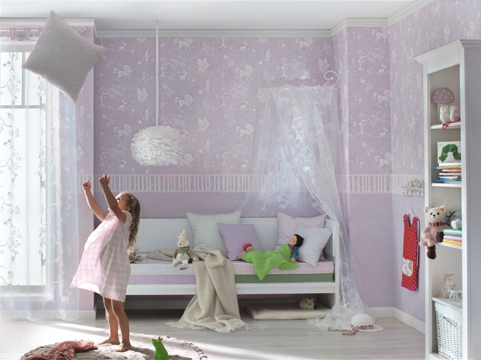 Kinderzimmer Tapeten Gl??ckler : tapeten 3716 ?berstreichbare tapeten glatte vliestapeten 3 tapeten