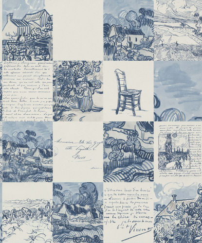 Tapete Van Gogh 220031 - BN Wallcoverings