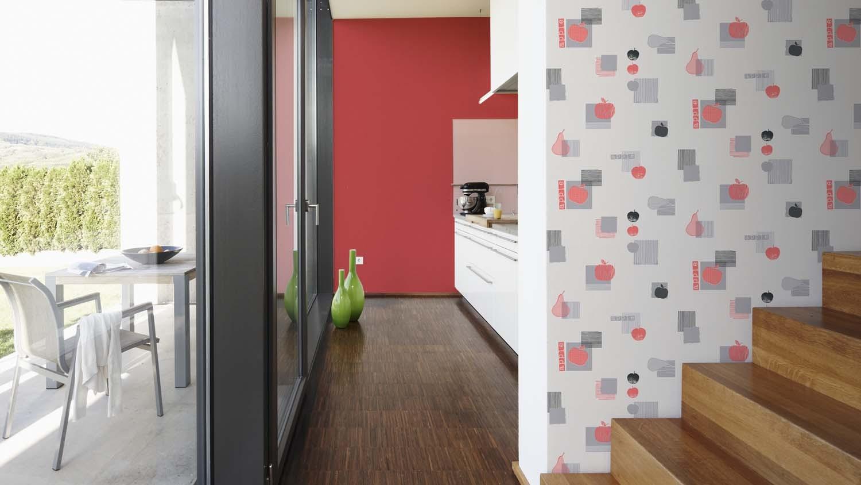 tapeten as kitchen dreams gratisversand. Black Bedroom Furniture Sets. Home Design Ideas
