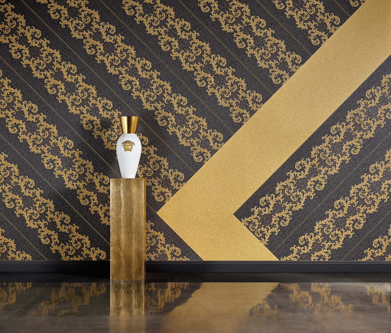 tapeten as versace gratisversand. Black Bedroom Furniture Sets. Home Design Ideas