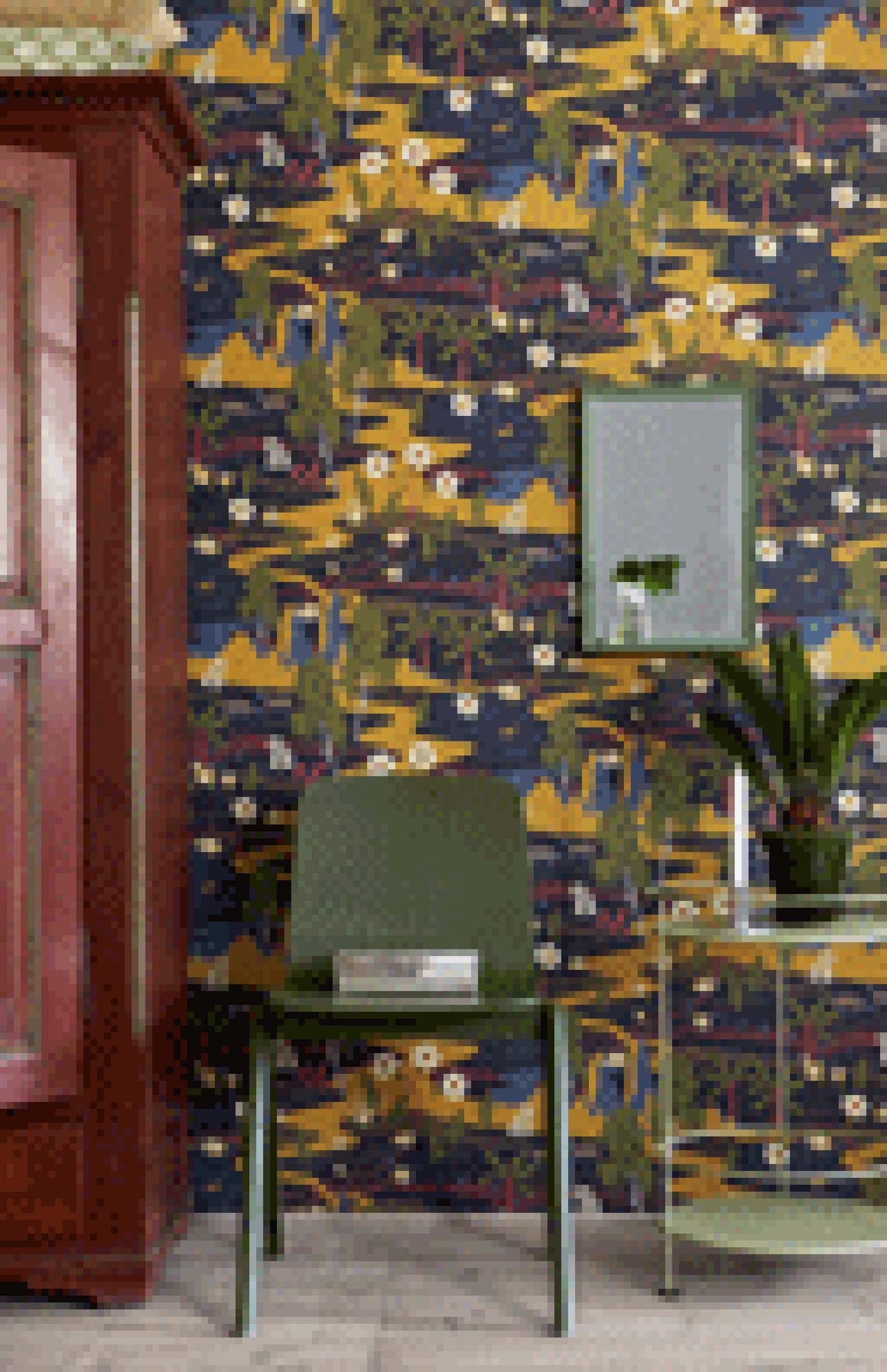 hanna werning skandinavische tapeten kollektion wonderland. Black Bedroom Furniture Sets. Home Design Ideas