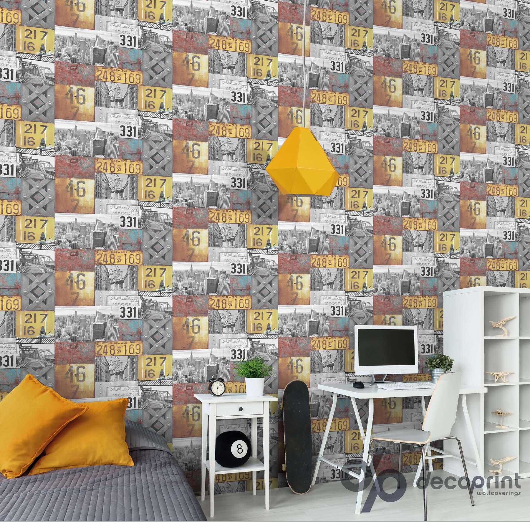 Tapeten online kaufen luxustapete stil wallsilk iv muster for Steintapete schwarz