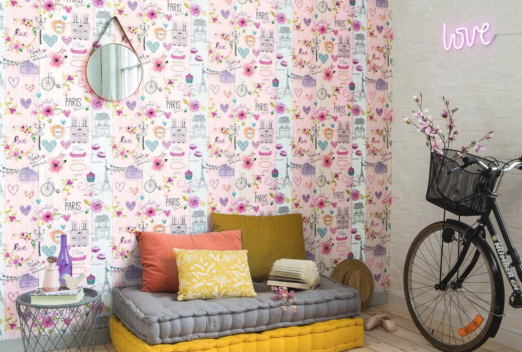 les aventures kollektion essener tapeten gratisversand. Black Bedroom Furniture Sets. Home Design Ideas