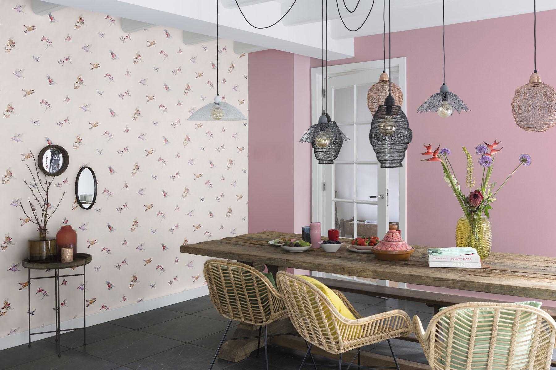 lazy sunday 2 rasch tapeten gratisversand rechnungskauf. Black Bedroom Furniture Sets. Home Design Ideas