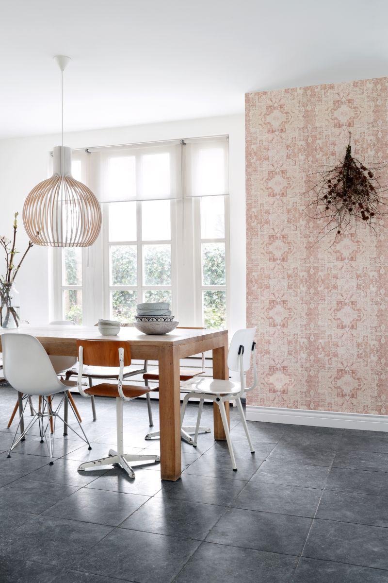 boho chic tapeten rasch textil rechnungskauf gratisversand. Black Bedroom Furniture Sets. Home Design Ideas