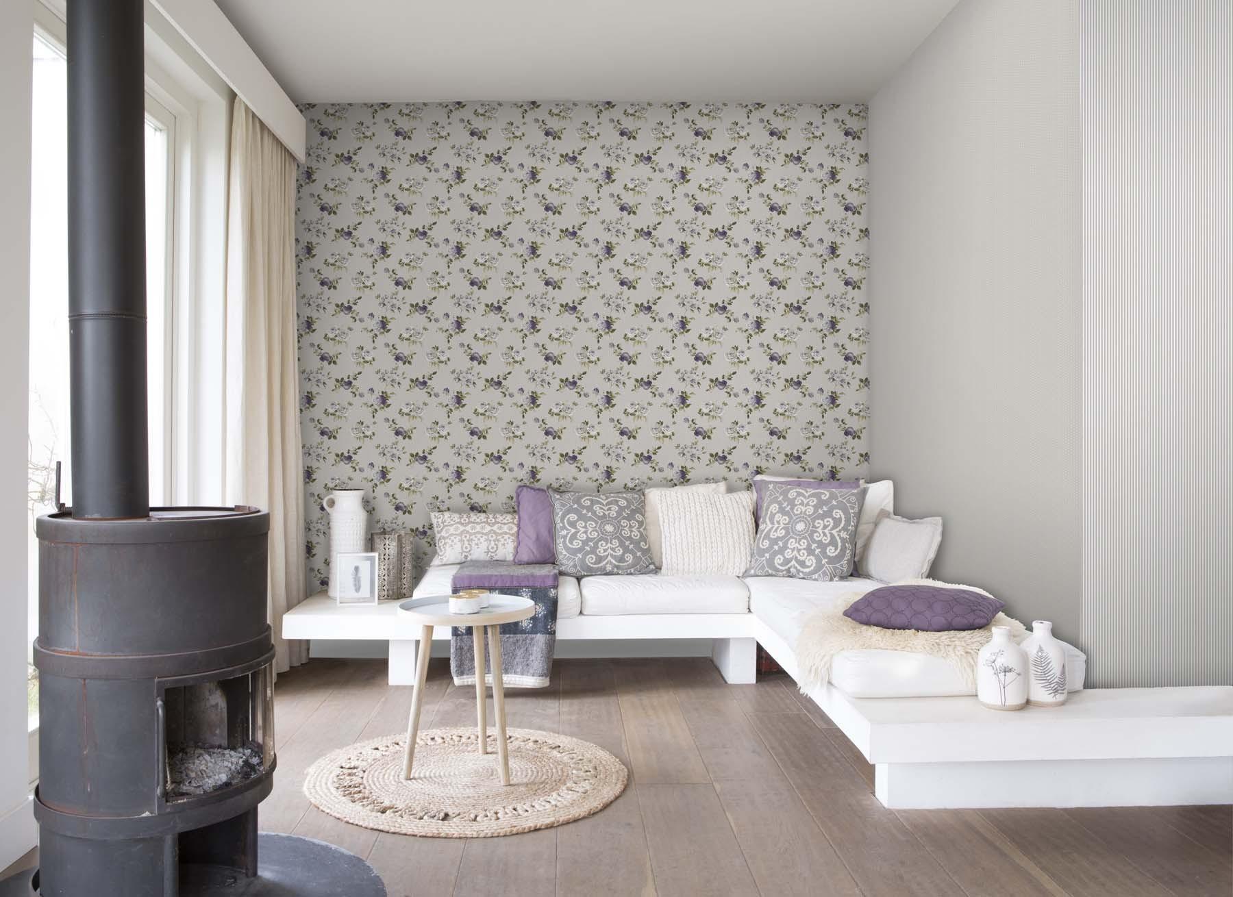 petite fleur 4 tapeten rasch textil gratisversand. Black Bedroom Furniture Sets. Home Design Ideas