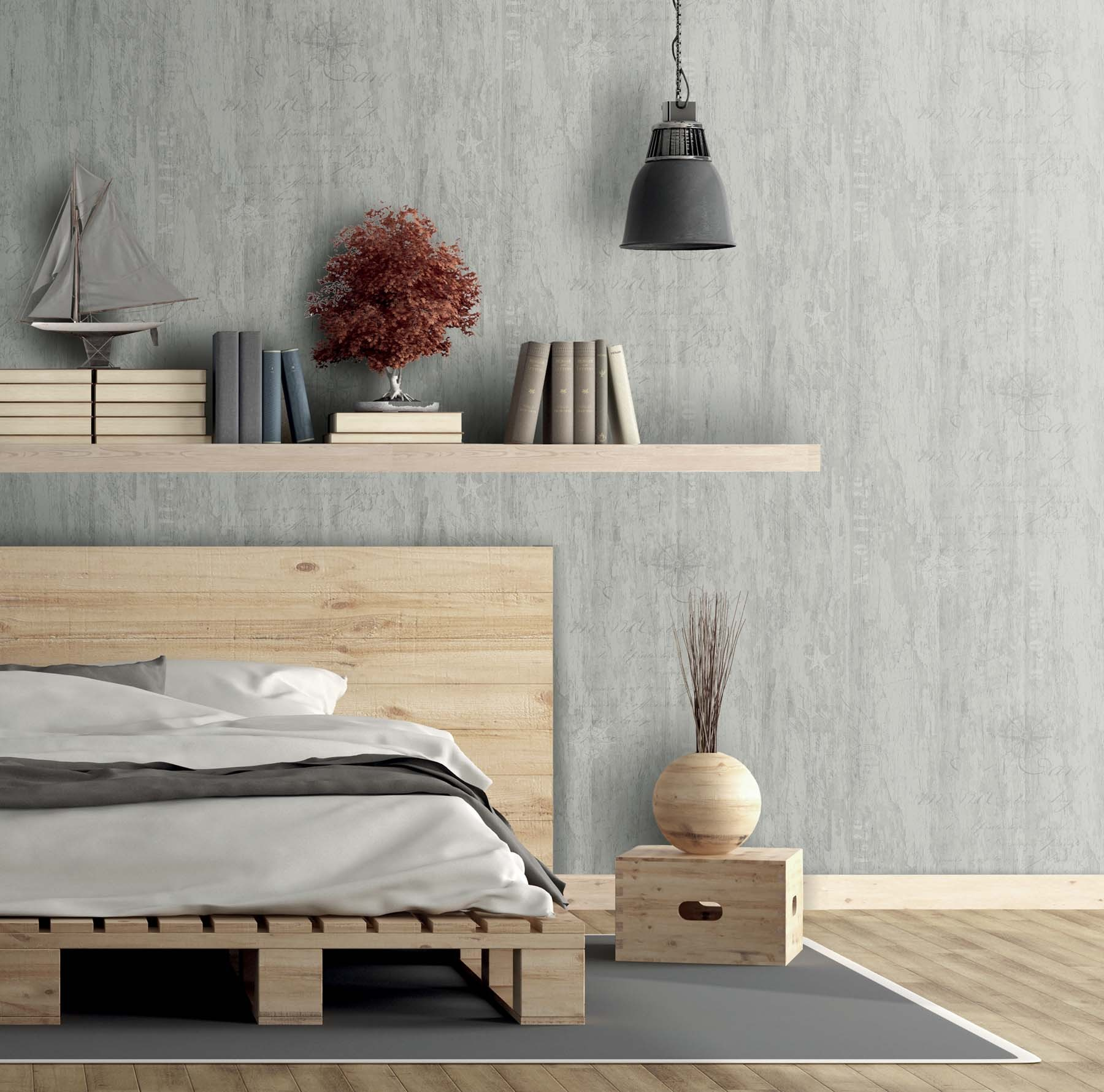 skagen tapeten rasch textil rechnungskauf gratisversand. Black Bedroom Furniture Sets. Home Design Ideas